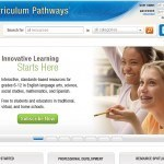 The SAS Curriculum Pathways landing page.