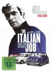 "Poster for the movie ""The Italian Job"""