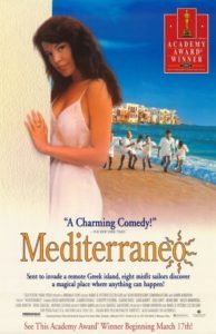 "Poster for the movie ""Mediterraneo"""
